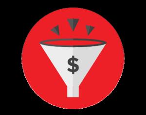 Sale Funnel Icon